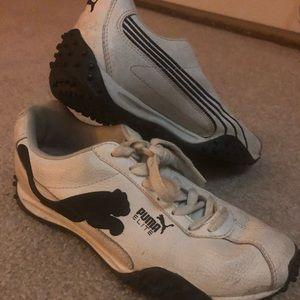 Puma white sneaker size 6.5